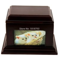 pet urns - Free ship discount wooden funeral urns for pets