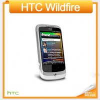 android phones singapore - G8 Original Unlocked HTC Wildfire A3333 Mobile phone inches Android GPS MP Camera WIFI Singapore post Free Shiping