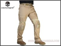 airsoft tactical pants - Men Military Hunting Airsoft bdu Pants EMERSON Combat Gen2 Tactical Pants with Knee Pad EM7038