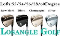 Wholesale Vokey SM5 Golf Wedges With Steel Shafts Golf Clubs Set colors New DHL Fast Shipping
