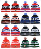 Wholesale 2015 New NRL Team Beanies Caps Sports Hats winter knitted hats mix order album offered Fashion Accessories