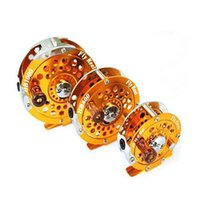 Cheap Hot sale Removable Aluminum alloy Fly Fish reel Fly Fishing Reels ice fishing reel raft Can Be Swap Left And Right