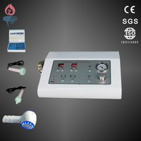 Wholesale 3 in multifunction Diamond Dermabrasion Machine Hot cold hammer ultrasonic Skin Care System