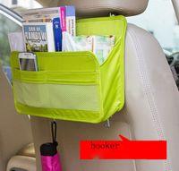 Wholesale Car Vehicle Seat Bags Universal Multifunction Car Seat Back Pocket Storage Hanger Organizer Holder Bag