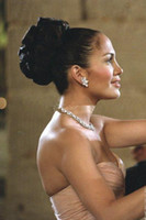 maid in manhattan - Prom dresses party evening gowns in the movie Maid In Manhattan Chiffon Criss Cross Folds Long Elegant plus size under Bridesmaid Dress