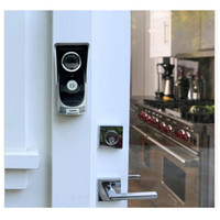 al por mayor visor de la noche-WIFI Videoportero inalámbrico digital inteligente Peephole de la cámara de 2,0 megapíxeles de visión nocturna Intercom timbre de la puerta para el hogar S313