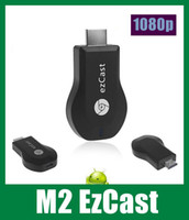 Wholesale M2 EZcast DLNA Airplay WiFi Display Receiver Dongle Multi screen Interactive TV Stick HDMI P Miracast Make Notes OTH033