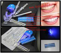 Cheap 100Packs lot 0.1%-44% 5ml Carbamide Peroxide (2 Syringe) Home Use Tooth Whitener Bleaching Teeth Whitening Whitener Kit MY370