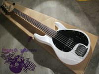 Wholesale Newest Custom White string bass Electric bass Guitar MUSICMAN OEM Available