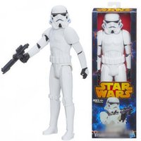 Wholesale Crazy Toy Star Wars Clone Trooper Stormtrooper PVC Action Figure Collection Toy quot CM