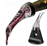 Wholesale Drinkware eagle spout Quick Aerating red wine Pourer Decanter Red Wine Bottle Mini Travel Aerator bar tools with giftbox buckets coolers