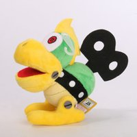 Wholesale Details about Super Mario Bros inch Koopa Bowser Koopalings Stuffed Plush Figure Toy DOLL