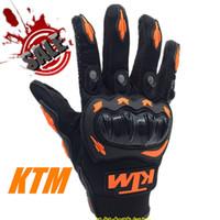 Wholesale KTM Full Finger Guantes Motorcycle Gloves Motorbike Motocicleta Luva Moto Motocicleta Motocross Guantes Gloves M L XL XXL