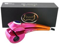 automatic voltage - Showliss Pro LCD Hair Curler With Free Hair Clips Curling Iron Pro LCD Hair Curler Automatic Universal Voltage showliss