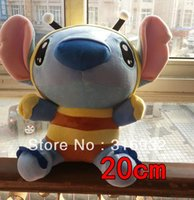 bee wig - J1 Super cute hot sale LiLo Stitch series Stitch interstellar baby changeable bee cm plush toy good for gift pc