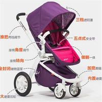 Wholesale Good Quality Portable Baby Strollers Children Carriage Stroller Fashion Baby By Pushchair High Landscape Pram