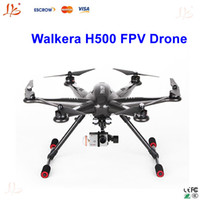 Wholesale Walkera TALI H500 quadcopter FPV Drone Hexacopter RTF drone with hd camera DEVO F12E Battery G3D Gimbal Charger ILOOK Full Set