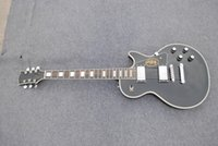 Wholesale electric guitar chrome hardware chrome semicircle tuning keys pickguard with logo guitar NIAN G