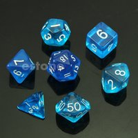 Wholesale Sided Die D4 D6 D8 D10 D12 D20 MTG RPG D D DND Poly Dices Board Game Chess GN order lt no track