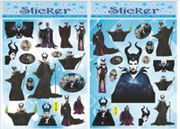 Wholesale Maleficent Sticker PVCFrozen Mickey Mouse Butterf Anime Cartoon Tattoo Stickers Monster high Body complete tattoo Women Baby Children s Gift