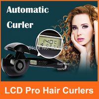 Wholesale Eu Plug LCD Automatic Curls Professional Curler Hair Styler Conair Pro Titanium Original