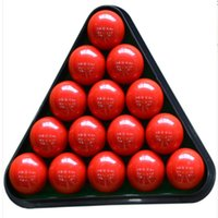 Wholesale HOT The Snooker English Ball Pool Billiard Table Rack Triangle Rack Standard Sports Entertainment