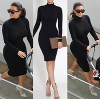 Cheap 2015 Bandage Dress Celebrity Cotton Best bandage dress Kim Kardashian