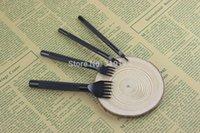 Wholesale Prong Black Steel Diamond Stitching Chisel mm Leather Craft Tools