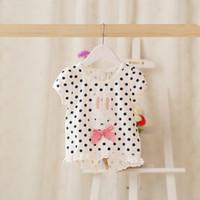 Cheap children princess tops Best baby girls bunny t shirt