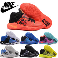 dyed fabric - Nike Kyrie II Tie Dye Inferno Men Basketball Shoes Original Quality Kyrie irving For Mens Sports Sneakers Size