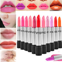 baby cosmetic - Brand HengFang Matte Lipstick Cosmetic Makeup Tools For Baby Pink Lips Batom Waterproof Lipstick Ladies Gift