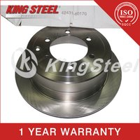 Wholesale Rear Brake Disc for Toyota Land Cruiser OE NO Car Auto Parts