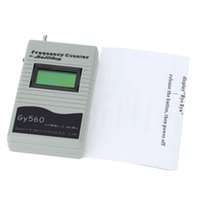 Wholesale GY560 MHz GHz Portable Handheld Frequency Counter Radio Testing Interphone GSM CDMA Testing Frequency Meters