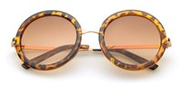 Wholesale 2014 hot selling vintage round sunglasses