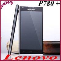 Precio de Lenovo p780-el envío libre del teléfono móvil de <b>Lenovo P780</b> Plus Dual-Sim Móvil MTK6592 Octa núcleo 13 MP RAM 2G 3G Android 4.4 1920X1080 móvil abierto