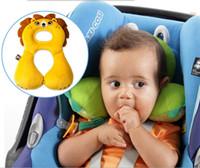 Cuello de 1-4 años de edad los niños almohada Rigidez Almohada bebé para concluir el regalo del juguete de la felpa de los niños del diseño de almohada