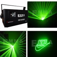 Cheap green DMX 1000mW Pro Laser Light DJ Disco Party Club Stage Lighting Effect