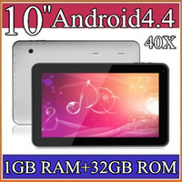 10.1 tablet pc - 40X GB GB quot Android Quad Core tablet pc Allwinner A31S Dual Camera tablets with Bluetooth Capacitive Touch HDMI cable PB