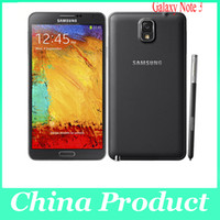 Wholesale N9000 Original Samsung Galaxy note Quad Core G LTE GB ram GB rom smartphone Android P Front Camera refurbished