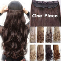 Wholesale FACTORY PRICE quot CM Real Natural Hair Extention Full Head Clip in Hair Extensions Curly Curly US UK Fast SHIP