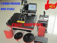 black advanced digital design - Digital Advanced New Design Dish Press Mini Mug Transfer Multicolour Tshirt Color Printer Combo In Heat Press Machine