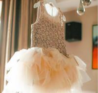 Cheap Korean girls Clothes summer dresses cake skirt tutu dress children lace princess dress summer dress