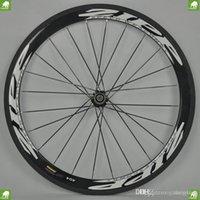 carbon black - Top selling ZIPP Firecrest full carbon bicycle wheel rainbow white letter black carbon wheelset mm C Novatec hubs