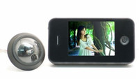 Wholesale 3 Monitor Digital Peephole Viewer Home Security Camera Photo Shoot Door Bell