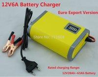 12v lead acid battery - 12V Car Battery Charger V lead acid battery charger V Motorcycle Battery Charger12V6A Car Charger One free Power adapter