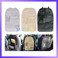 benz travel - Car Back Seat Organizer Auto Travel Storage Bag with Multi Pockets Holder Pouch