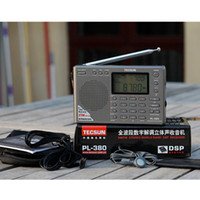 Wholesale Tecsun PL PL380 radio Digital PLL Portable Radio FM Stereo LW SW MW DSP Receiver Nice