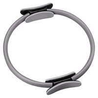 Wholesale Magic Fitness Circle Pilates Yoga Ring Body Slimmming Weight Loss Home Gym Exercise Equipment Gray B2C Shop