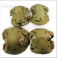 Wholesale 4pcs set knee elbow Tactical paintball protection Transformers knee pads elbow pads