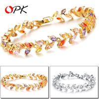 Wholesale AAA Roman zircon crystal bracelet Creative fine Set auger DS934 Couple bracelet